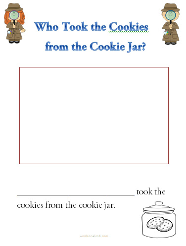 Who Stole The Cookie From The Cookie Jar Song Enchanting Who Took The Cookies From The Cookie Jar Words On A Limb