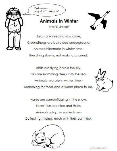 AnimalsinWinterPoem