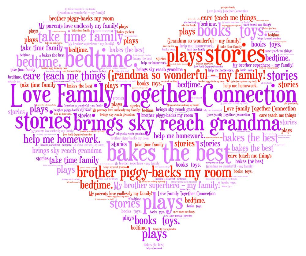 family words on a limb