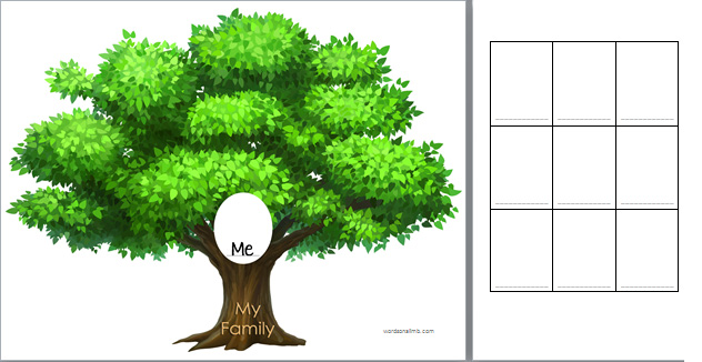 family tree | Words On A Limb