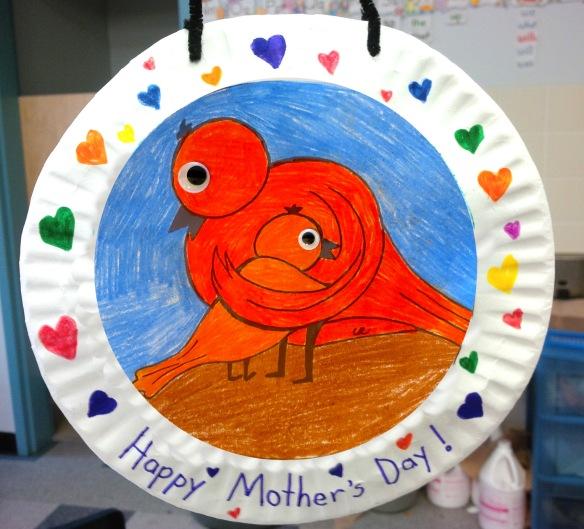 birds plate